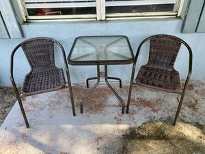 Outside Table and Chairs for Sale in West Palm Beach, FL