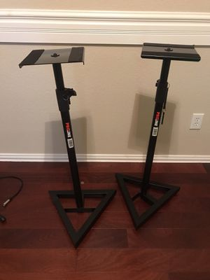 ProLine Studio Monitor Stands for Sale in Keller, TX