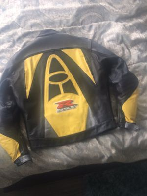 Suzuki Motorcycle Riding Leather Jacket for Sale in Vancouver, WA
