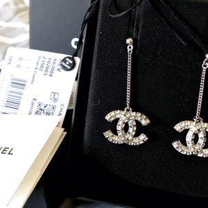 Chanel Baguette Dangle Drop Earrings for Sale in Santa Ana, CA
