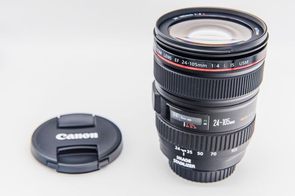 Canon 24-105mm f4L lens brand new