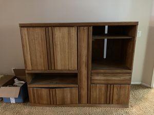 Vintage wood tv living room cabinet for Sale in Carlsbad, CA