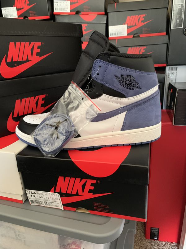 e2457eb8bc75 Deadstock Nike Air Jordan retro 1 blue moon size 12 for Sale in San ...