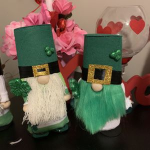 St Patrick Decorations Gnomes $10 Each for Sale in Chesapeake, VA