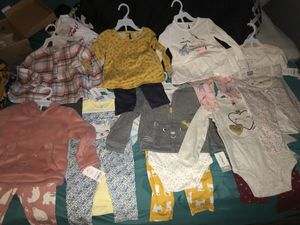 Carters kids clothes 24 months 11 outfits for Sale in Columbus, OH