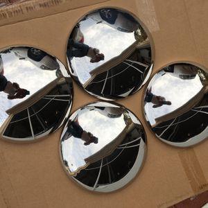 "Vintage OEM Chrome Dog Dish 9.5"" Hub Caps for Sale in Spring Hill, FL"
