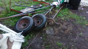 Mobile home axles with electric brakes and 5 lug Wheels for Sale in Orlando, FL