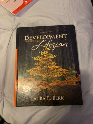 Development through the Lifespan by Laura E. Berk 5th edition (Hardcover textbook) for Sale in Pomona, CA