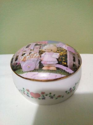 "VTG Precious Moments Classic Music Box"" God Loveth a Cheerful Giver"" for Sale in Lorton, VA"