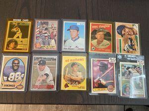Vintage Sports card lot for Sale in Los Alamitos, CA