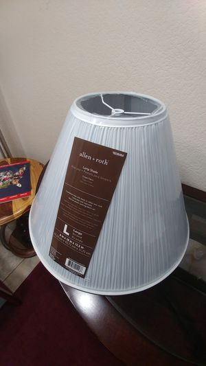 Brand new lamp shade for Sale in Rancho Cucamonga, CA