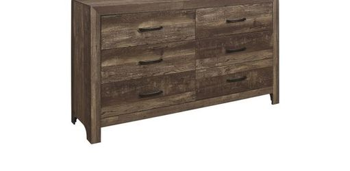 Queen Bed Frame Dresser Mirror One Night Stand Price Firm for Sale in Ontario,  CA