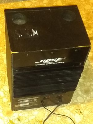 Bose amplified acoustic speaker system for Sale in Fresno, CA