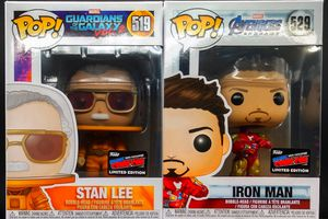 NYCC 2019 Funko Limited Edition Pops - Stan Lee (Astronaut) GotG2 / Iron Man (w/ Gauntlet) Avengers Endgame - NYCC 2019 Exclusives (Not Shared) for Sale in New York, NY