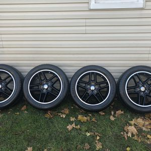 """18""""(5/114) Rims And Tires for Sale in Verona, NJ"""