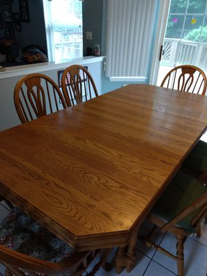 Table and 8 chairs for Sale in Jackson Township, NJ