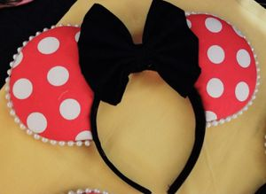Minnie Mouse Disney Ears for Sale in Houston, TX