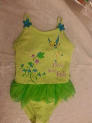 Tinkerbell green girls size 5 swimsuit for Sale in Winter Park, FL