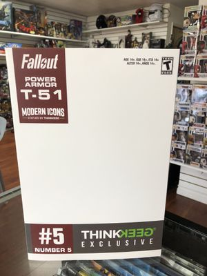 Fallout Power Armor T-51 Modern Icons Thinkgeek Exclusive Statue Number 5 for Sale in La Habra Heights, CA