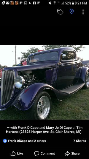 34 ford coupe for Sale in Marion, MI
