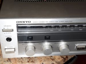 Onkyo Servo Locked Amplifier/Receiver for Sale in Hillcrest Heights, MD