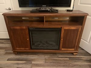 Electric Fireplace / TV Stand for Sale in New Market, MD