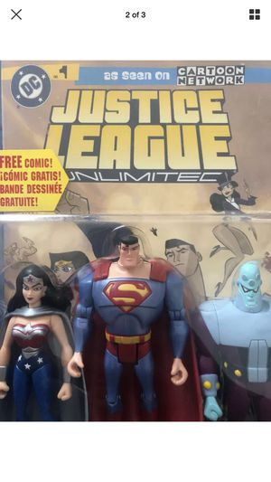 "Justice League unlimited Wonder women Superman Brainiac ""2005"" for Sale in Everett, MA"