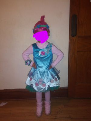 Trolls poppy costume size 4/6x for Sale in Chicago, IL