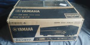 Yamaha RX-V377 5.1-Channel A/V Home Theater Receiver Audio Video for Sale in Denver, CO