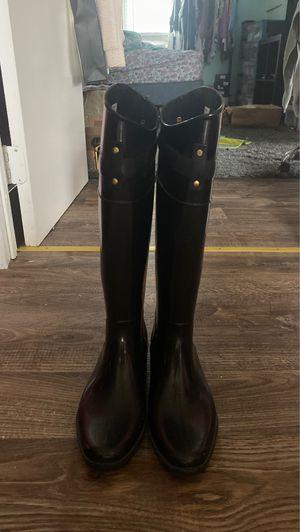 Ralph Lauren rain boots size 6 for Sale in Geneva, NY