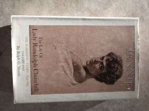 BOOK : JENNIE -- THE LIFE OF LADY RANDOLPH CHURCHILL for Sale in Mesa, AZ