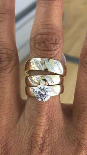 Gold 14K trio for Sale in Los Angeles, CA
