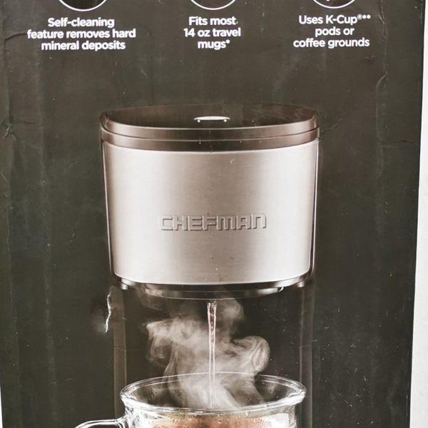 Chefman Instacoffee Single Serve Brewer