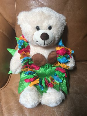 Brand new Build-A-Bear Hawaiian Bear for Sale in Fresno, CA