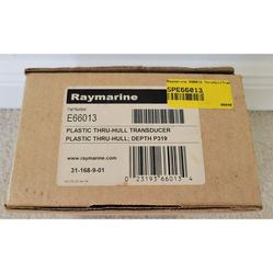 Raymarine Thru-Hull Transducer Depth Only Sonar - New for Sale in Cape Coral,  FL