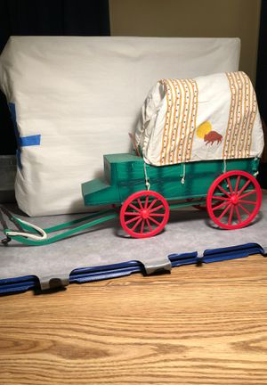 Vintage toy covered wagon for Sale in Fort Worth, TX