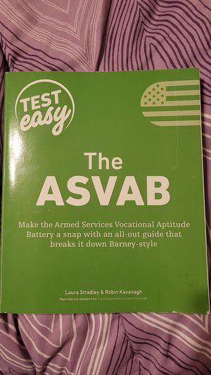 Asvab study book for Sale in Mansfield, OH