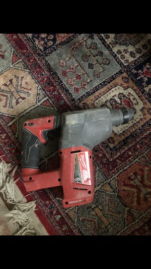 Milwaukee hammer drill with battery for Sale in Silver Spring, MD