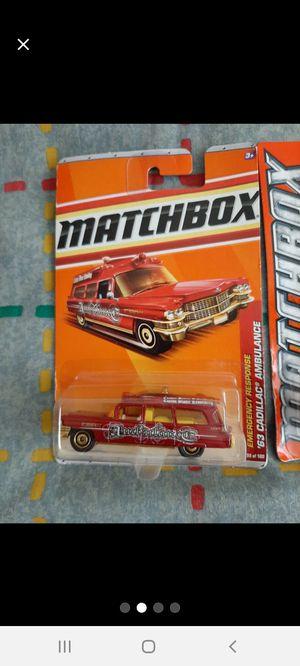 Matchbox 1963 Cadillac Ambulances ●□● for Sale in Williamsport, PA