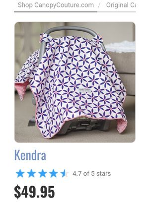 Car seat canopy cover for Sale in Georgetown Township, MI