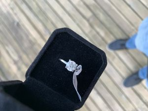 Diamond engagement ring and wedding band for Sale in Maple Valley, WA