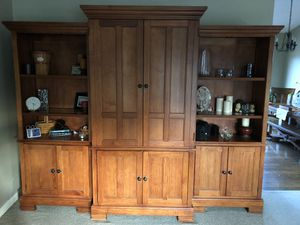 Hamilton Heritage 3 piece Entertainment Center for Sale in Federal Way, WA