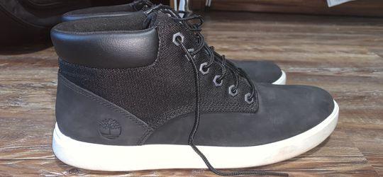 Timberland, High Top Sneaker, Black, Men's 9 for Sale in Edmond,  OK