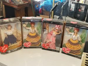 I Love Lucy Barbie dolls for Sale in El Paso, TX