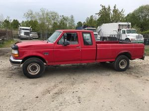 1997 Ford F250 Powerstroke Turbo Diesel 300k miles runs and drives!!! for Sale in Temple Hills, MD