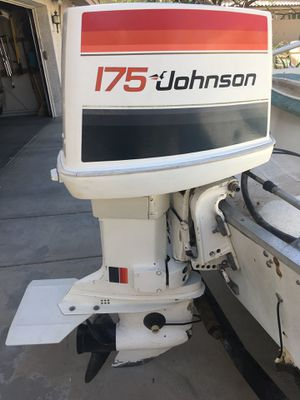 Johnson 175HP Outboard Motor for Sale in Scottsdale, AZ