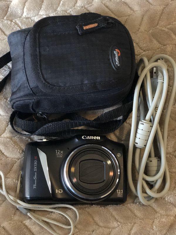 Canon PowerShot SX130IS 12.1MP Digital Camera