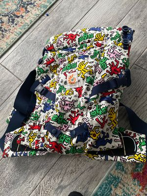Ergo baby carrier Keith Haring edition 125 obo for Sale in Arlington, TX