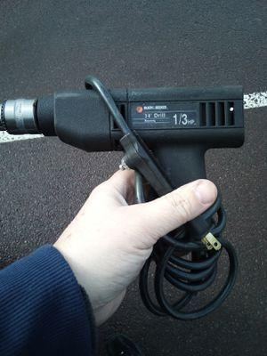 Black and Decker drill for Sale in Berwick, PA