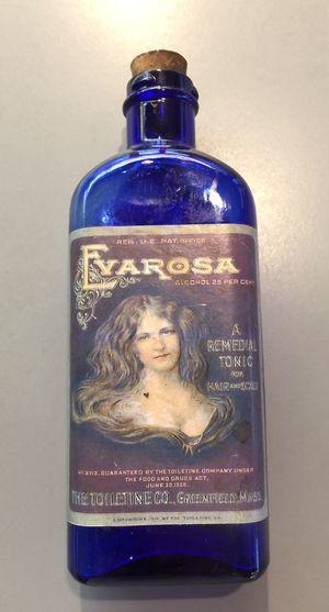 Antique Evarosa bottle with original label, bottle and cork. for Sale in Monroe, WA